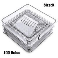 Acrylic 100 Holes Size 0 Capsules Fille Manual Capsules Fillin Machine Flatetool