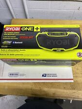 Ryobi Hybrid Stereo Radio Bluetooth Wireless 18-Volt ONE+ Dual Power (Tool Only)