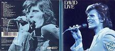 David Bowie - DCD - Live At The Tower Philadelphia 1974 - CD´s von 1990 - ! ! !