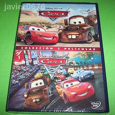 CARS + CARS 2 COLECCION 2 PELICULAS EN DVD NUEVO Y PRECINTADO DISNEY PIXAR