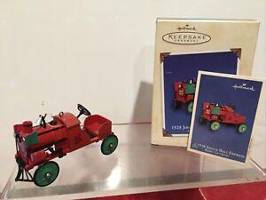 Hallmark 1928, Jingle Bell Express Kiddie Car Classic 2002 9th Series QX8076