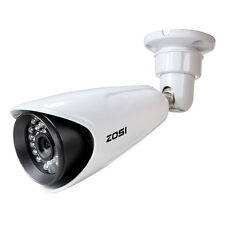"ZOSI 1/3""HD 1000TVL 3.6mm IR Cut CCTV Security Camera Surveillance Outdoor Night"
