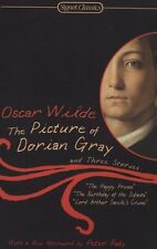 The Picture of Dorian Gray and Three Stories (Signet Classics) by Oscar Wilde