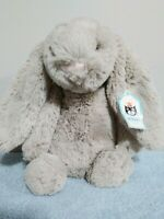 Jellycat Plush 11″ Bashful Bunny Rabbit Beige Soft Plush Stuffed Animal