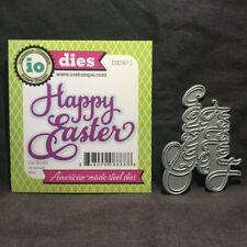 Happly Easter Metal Cutting Dies Stencil DIY Scrapbooking Album Paper Card