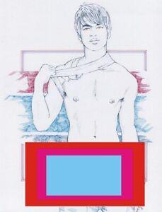 "Adult  Gay Interest ONLY ""Taiwan Friend"" Original COPY by Mario Bieletto"