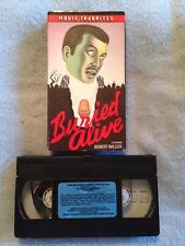 Buried Alive (1939) - VHS Video Tape - Horror - Beverly Roberts - Robert Wilcox