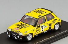 Renault 5 Turbo #9 5th Monte Carlo Rally 1982 Saby - F. Sappey Spark 1:43 S3854