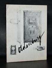 Sidney Janis gallery # CLAES OLDENBURG # 1964, nm-