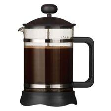 Premier Housewares Matt Black Mocha Cafetiere - 850ml / 6 Cup