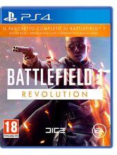 VIDEOGIOCO BATTLEFIELD 1 REVOLUTION PS4 GIOCO VIDEOGAME PLAY STATION 4 ITALIANO