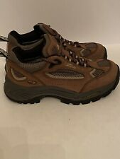 VASQUE NEW EDITION HIKING BROWN GREEN BOOTS BOOT KIDS YOUTH SIZE  NE-1018