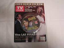 2006 Elvis Presley TV Guide w/Free CD Rom-CD4-IT WON'T SEEM LIKE CHRISTMAS WITHO