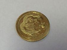 Lunar dragón 999 plata moneda de plata año del dragón year of the Dragon Silver