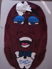 VTG 1987 The California Raisins Dress Up Costume Collectible Applause Licensing