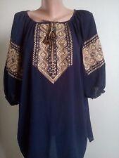 Ukrainian embroidery, embroidered blouse, XS-4XL, Ukraine