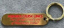 Lot of Two 2 The Big Red Boat Brass Key Ring Chains- Premier Cruise Lines Disney