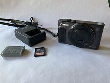 Mint Canon PowerShot SX620 HS 20.2MP Digital Camera with 32gb memory card- Black