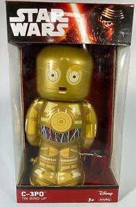 Schylling Disney Star Wars C-3PO Tin Wind-Up Toy. NRFB