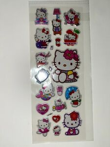HELLO KITTY New In Package Stickers FREE SHIP! (C)