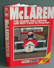 Mclaren Grandprix - Canam- And Indy Cars Book -Doug Nye.