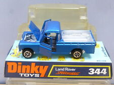 "DINKY TOYS MODEL No.344  LAND ROVER PICK-UP    ""LOW PLINTH BOX""     VN  MIB"