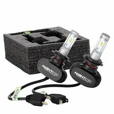 Paar NIGHTEYE 8000LM LED H7 Scheinwerfer Birnen Auto Headlight Kit Super Weiß