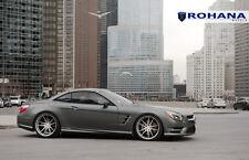 20x9 +25 20x11 +30 Rohana RF2 5x112 Titanium Wheel Fit Mercedes Benz Sl550 2013