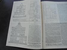 1914 Baugewerkszeitung 93/ Landhaus Sommerkamp Soest