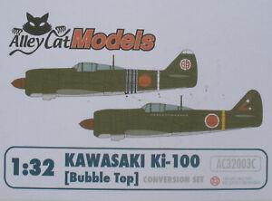 Alley Cat AC32003C - KAWASAKI Ki-100 - Bubble Top - 1:32 Conversion Set Bausatz