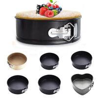 Kitchen Craft Non-Stick Spring Form Cake Tin Pan Tray Bakeware, Loose Base PICK