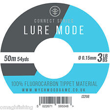 Wychwood Lure Mode 100% Fluorocarbon Tippet Material*5 Sizes*Trout Game Fishing