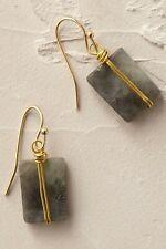 ANTHROPOLOGIE Natural Quartz Earrings