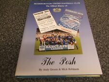 Book Peterborough United Football Club The Official History of The Posh Yore HB