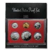 (1) 1981 United States Proof Set in Original Box