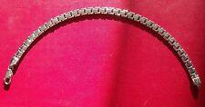 Joli Bracelet reversible en Or Blanc 14 carats 585/1000