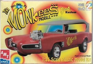 Factory Sealed AMT The Monkees Mobile, Barris Kustom in 1/25 30259