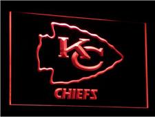 New Custom Kansas City Chiefs LED Neon Light Signs Bar Man Cave 7 colors u pick