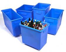 More details for food grade bar bottle bin portable pub storage waste trucks skips, various sizes