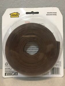 M-D Building Products 02592 Brown Rubber Weather Strip Tape For Doors & Windows
