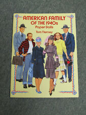 New ListingAmerican Family Of The 1940S Paper Dolls - Tierney, Tom - New Paperback Book