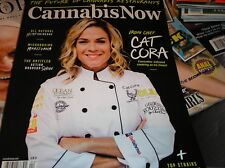 CANNABIS NOW  magazine  2018  Future of CANNABIS Restaurants  ,Cat Cora   AA-5