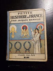 Livre ancien histoire de France illustré - Jacques Bainville . Ed Mame 1935