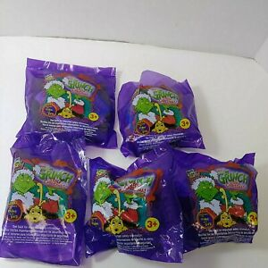 WENDYS HOW THE GRINCH STOLE CHRISTMAS MAX  TOYs 2000 NEW