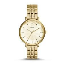 NWT FOSSIL ES3859 INCANDESA Gold Diamond SS Analog Women's Watch $185
