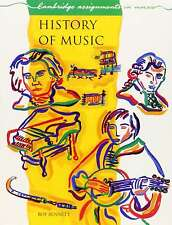 History of Music (Cambridge Assignments in Music), Roy Bennett, Very Good condit