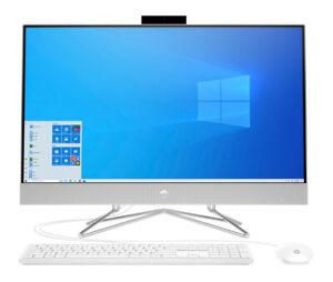 "HP All-in-One 27"" i7-10510u 16GB 512GB SSD + 1TB HDD FHD Touch Win 10Home Silver"