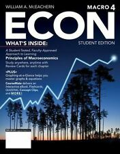 ECON: Principles Of Macroeconomics By William A. McEachern (Student Edition 4)