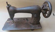 Antique Salvaged hand cranked Non working SEWING Machine PART DISPLAY & DECOR