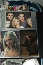 Buffy THe Vampire Slayer 5x7 Photo Cards 54 card set from Inkworks 1999
